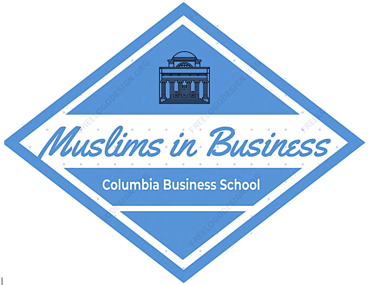 Muslim Business Students Association Logo