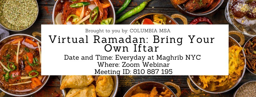 Bring Your Own Iftar